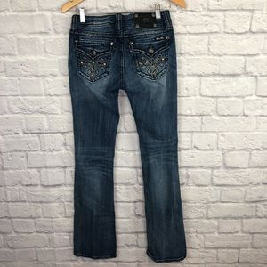 Miss Me Jeans - Miss Me Distressed Boot Cut Jeans
